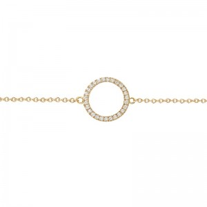Bracelet Cercle, Or jaune,...