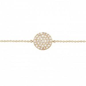 Bracelet chaînette Plaqué...
