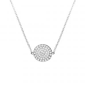 Collier Pastille, Diamants