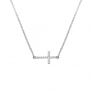 Necklace white Gold and...