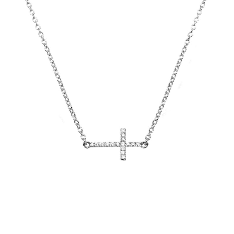 collier or blanc homme
