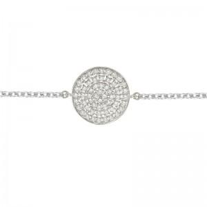 Bracelet Full Target White...