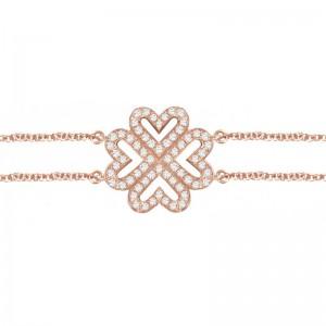 Bracelet Love Trèfle, Or...