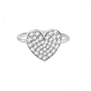 Ring Heart, Diamonds