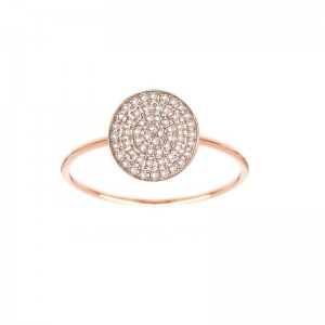 Ring Pastille,Rose gold,...