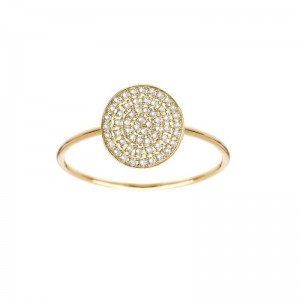 Ring Pastille, Yellow gold,...