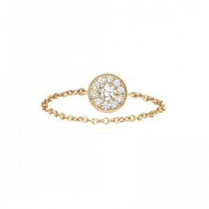 Chain Ring Round Yellow...