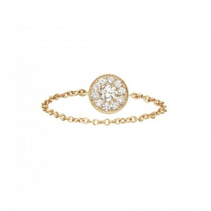 Chain ring yellow Gold and...