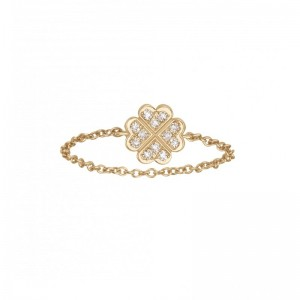 Chain Ring Clover Yellow...