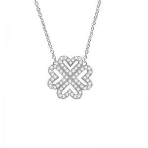 Necklace Lover Clover,...