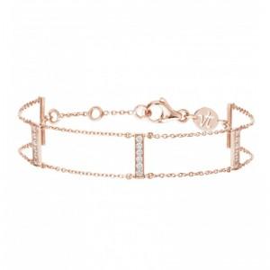 Bracelet Goldway, Or rose,...