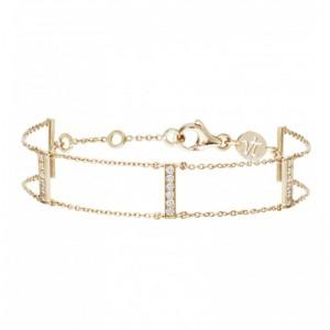 Bracelet Goldway, Or jaune,...