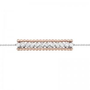 Bracelet Or blanc et rose...
