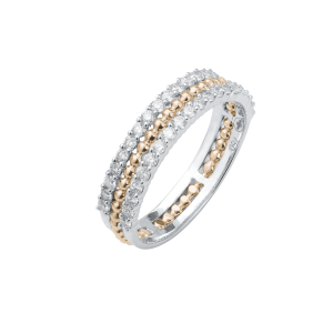 Wedding ring Pearled...