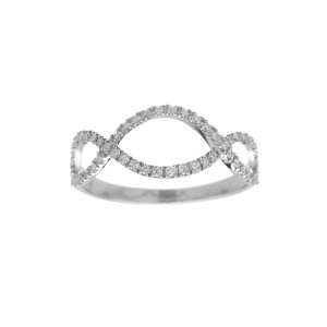 Infini Ring, White gold,...