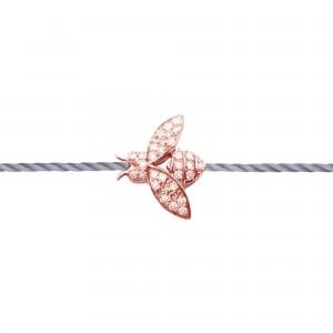 Bracelet Plaqué or rose et...