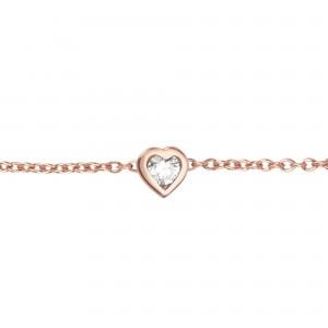 Bracelet Monture Coeur, Or...