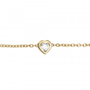 Heart Bracelet, Yellow...
