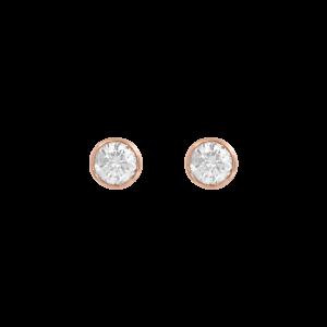 Identity18K金钻石耳钉
