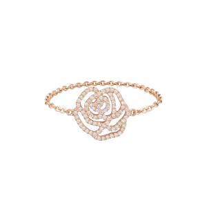 Bague La Rose, Or rose,...