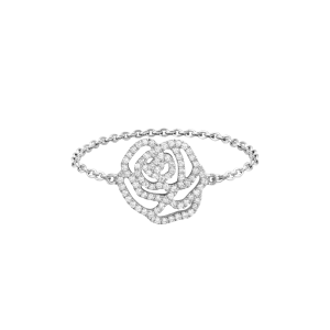 Ring La Rose, White gold,...
