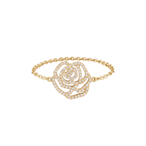 Ring La Rose, Yellow gold,...