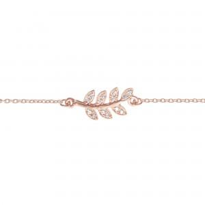 Bracelet Victoire, Or rose,...