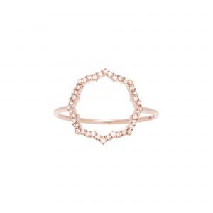 Blossom Ring, Rose gold,...
