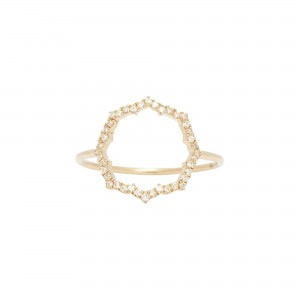 Blossom Ring, Yellow gold,...