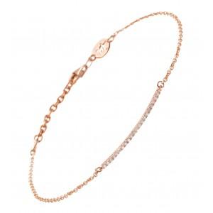 Bracelet Divine, Rose gold,...