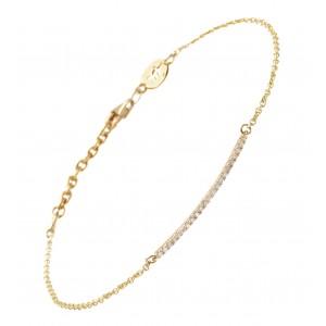 Bracelet Ligne Divine, Or...