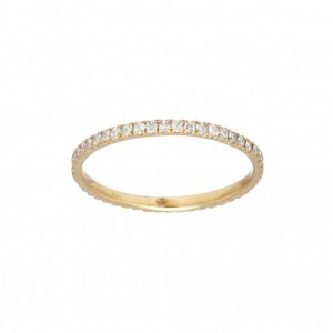 Ring Promesse, Yellow gold,...