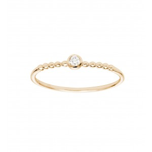 Ring Rose gold and Diamond...