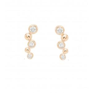 Earrings Courbes Perlées,...