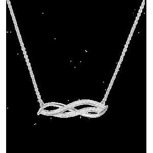 Necklace Sublim line, White...