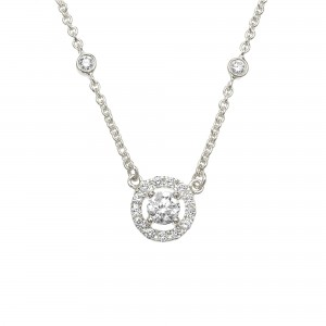 Necklace Imperial, White...