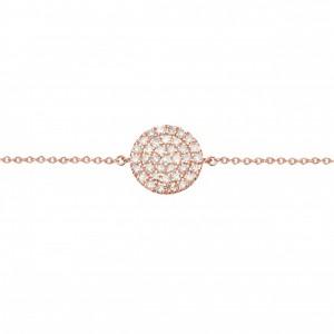 Bracelet Pastille, Plaqué...