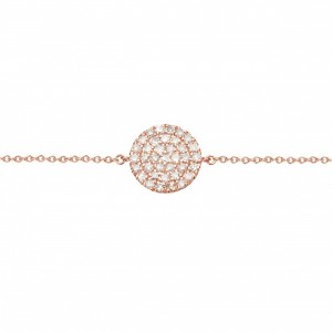 Bracelet rose gold Plated...