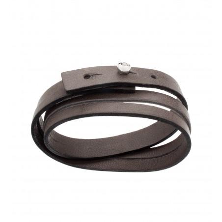 PROMESSE - Ring Wave, semi-paved diamond