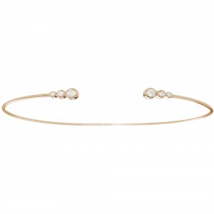Bracelet, Rose gold and...