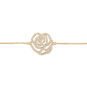 Rose Bracelet, Yellow gold,...