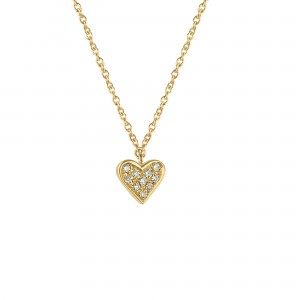 Necklace Charm Heart,...