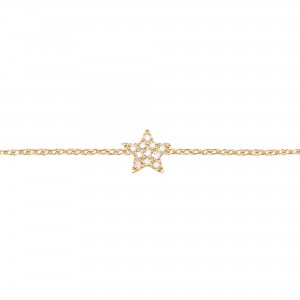 Bracelet Plated yellow gold...
