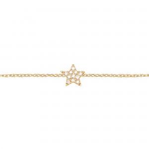 Star Bracelet, Plated...