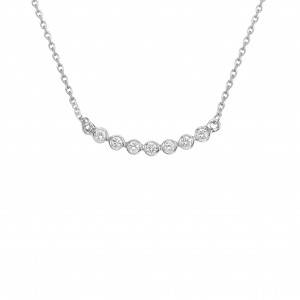 Necklace 7th Diamond, White...