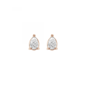 Earrings rose Gold and pear...