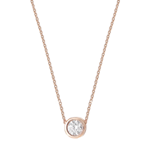Collier Or rose et Diamant...