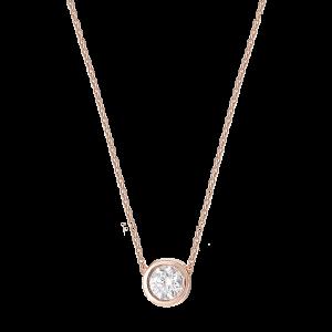 Collier Or rose et Diamant...