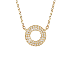 Collier Cible, Or jaune,...
