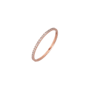 Knuckle ring rose Gold and...